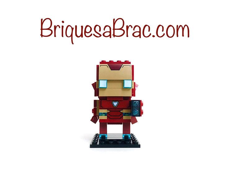 LEGO ® BRICKHEADZ 41604 Iron Man MK50 (Occasion)
