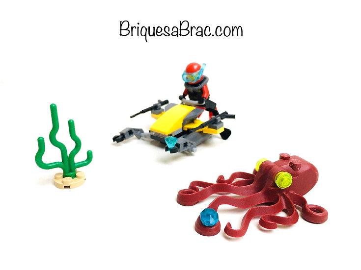 LEGO ® CITY 60090 L'explorateur sous-marin (Occasion)