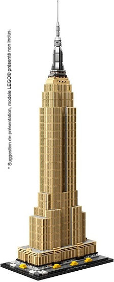 Vitrine BriquesaBoX pour The Empire State Building (LEGO® 21046 non inclus)