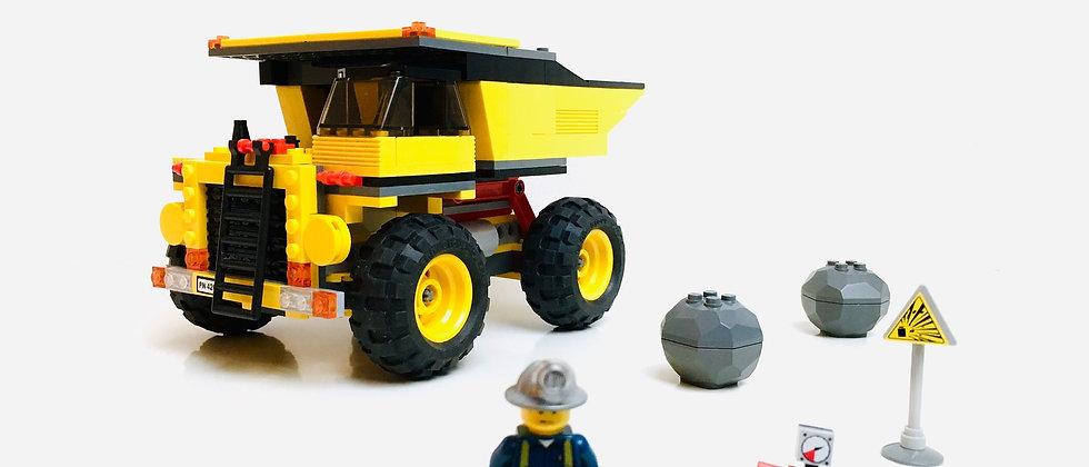 LEGO ® CITY 4202 Le camion de la mine (Mining Truck)