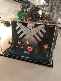 Vitrine sur Mesure Avengers