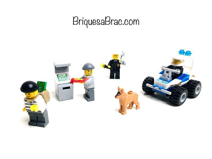 LEGO ® CITY 7279 Le Braquage du distributeur de billets de banque (Occasion)