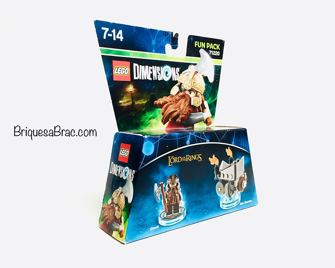 LEGO ® DIMENSIONS 71220 The Lord of the Rings (Gimli and Axe Chariot)