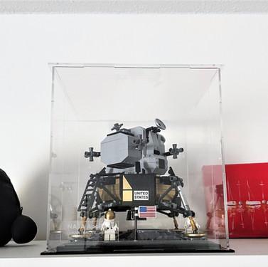 Vitrine BriquesaBoX Plexiglass LEGO® CREATOR 10266 NASA Apollo 11 Lunar Lander