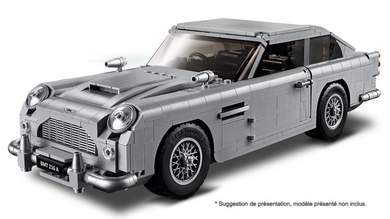 Taille XXL Vitrine BriquesaBoX James Bond Aston Martin DB5 (LEGO® 10262 non i