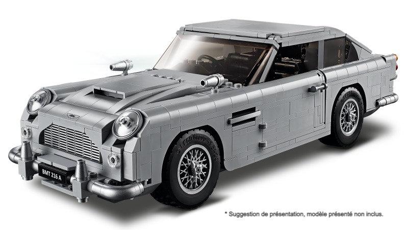 Vitrine BriquesaBoX pour James Bond Aston Martin DB5 (LEGO® 10262 non inclus)