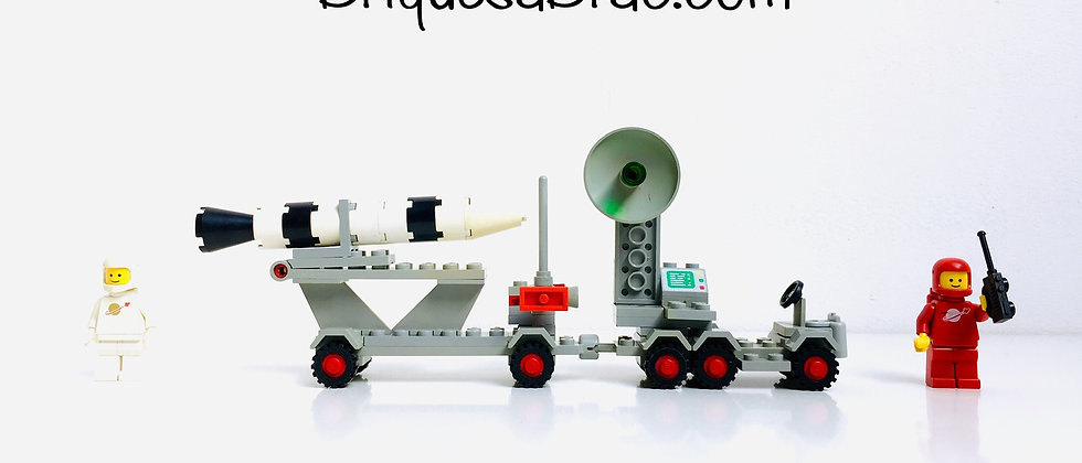 LEGO ® CLASSIC SPACE 897 Mobile Rocket Launcher