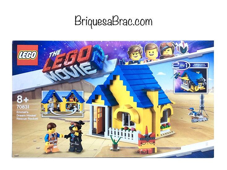 LEGO ® THE LEGO MOVIE 70831 La Maison fusée d'Emmet (Neuf)