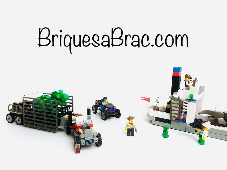 LEGO ® ADVENTURERS 5975 T-Rex Transport
