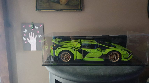 Vitrine BriquesaBox LEGO® Lamborghini Sian