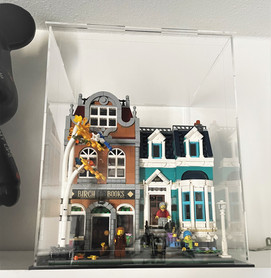 Vitrine BriquesaBoX Plexiglass LEGO® CREATOR EXPERT 10270  La Librairie
