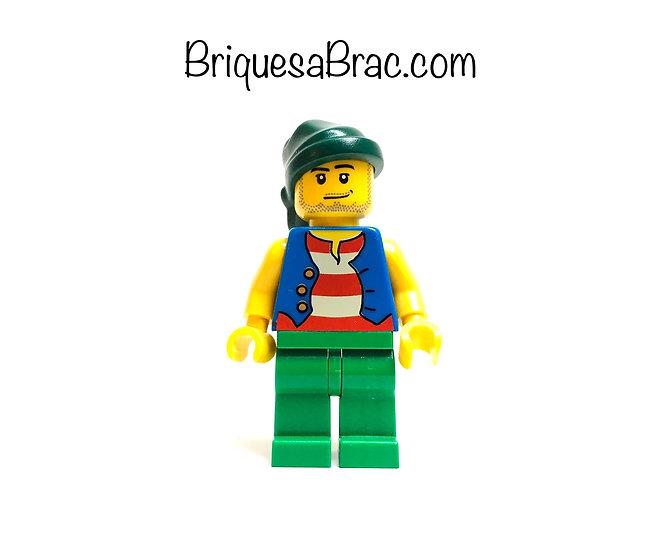 LEGO ® MINIFIGS 6299-20 Pirate (pi108)