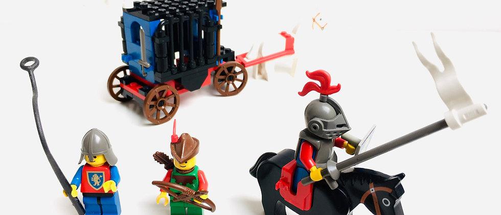 """LEGO ® CASTLE 6042 Le Chasseur de Donjons (Dungeon Hunters) """"Selle abîmée"""""""