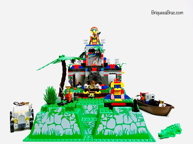 LEGO ® ADVENTURERS 5986 The Secret Jungle Temple