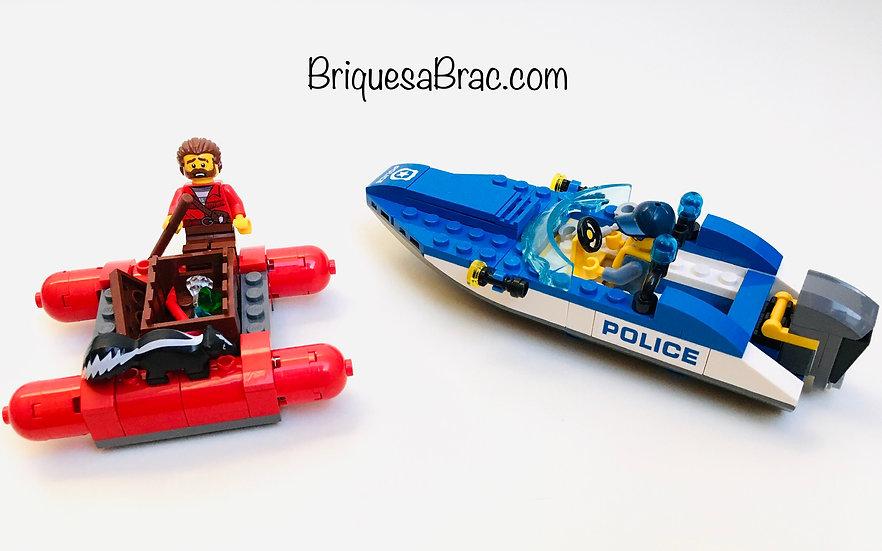 LEGO ® CITY 60176 La Fuite par la rivière sauvage