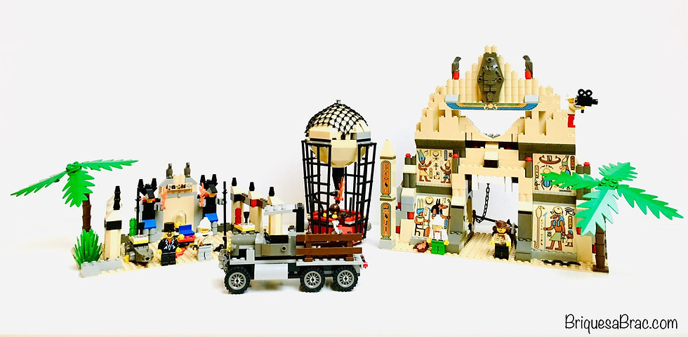 LEGO® ADVENTURERS 5988 Le Temple d'Anubis