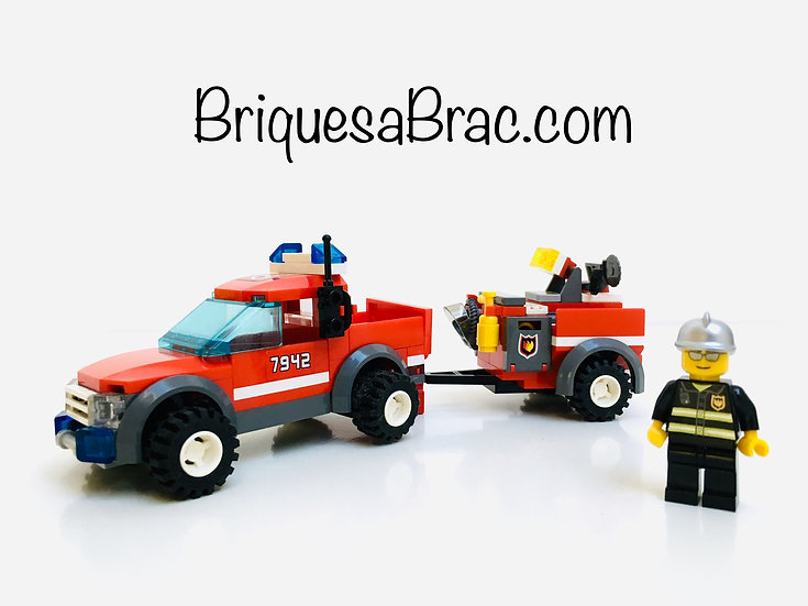 LEGO ® CITY 7942 Le 4x4 des pompiers (Off road fire rescue)