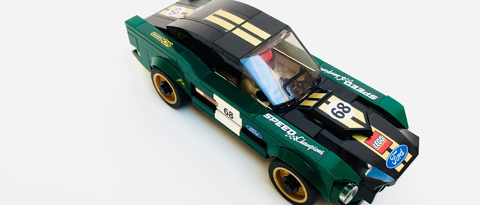 LEGO ® SPEED CHAMPIONS 75884 1968 Ford Mustang Fastback