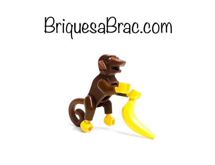 LEGO ® MINIFIGS 6299-14 Le Singe 2550c01 + Accessoire