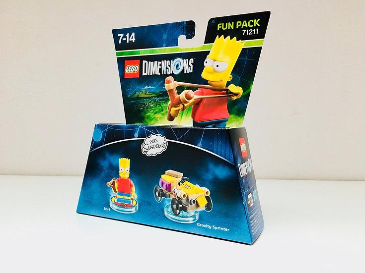 LEGO ® DIMENSIONS 71211 Simpson Bart & Gravity Sprinter