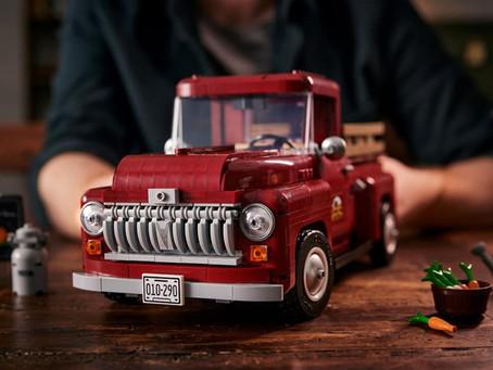 "Le Pickup Truck ""Green Farm"" de LEGO®, le Bon Gros V8 en plastique !"