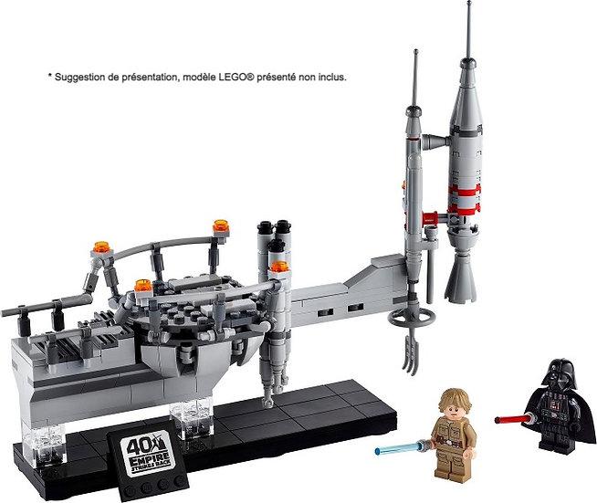 Vitrine BriquesaBoX pour Bespin Duel (LEGO® 75294 non inclus)