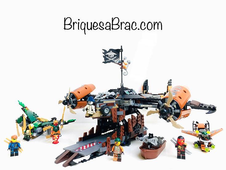 LEGO ® NINJAGO 70605 Le Vaisseau de la Malédiction