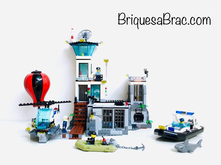 LEGO ® CITY 60130 La Prison en Haute Mer