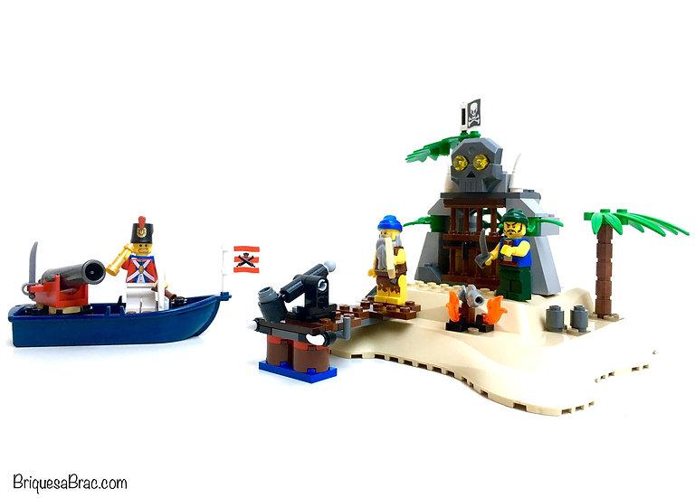LEGO® PIRATES 6241 L'île au trésor