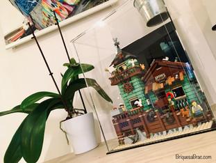 Vitrine BriquesaBoX LEGO® Ideas Old Fishing Store