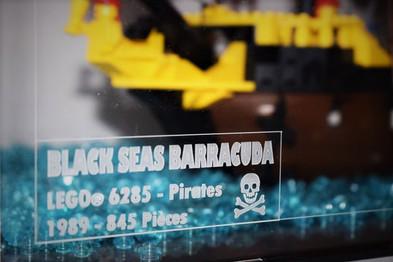 Gravure identité du Set Pirates 6285 Black sea Barracuda