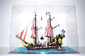 Vitrine Plexigas acrylique Briquesabox LEGO Black Sea Barracuda 6285