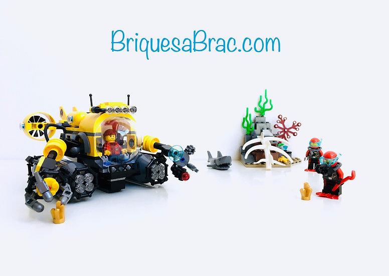 LEGO ® CITY 60092 Deep Sea Submarine