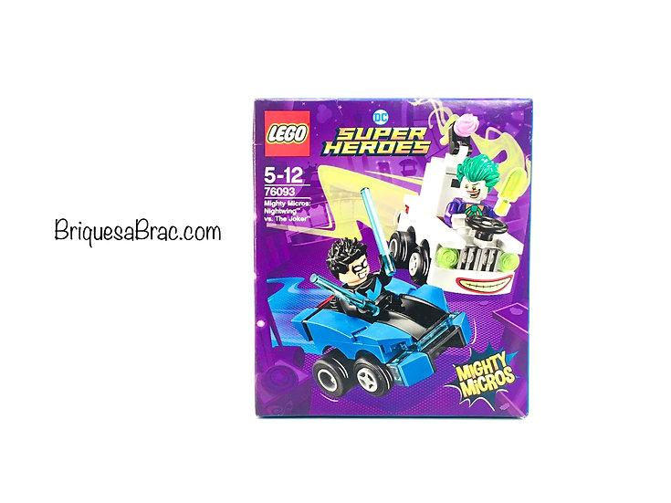 LEGO ® SUPER HEROES 76093 Mighty Micros: Nightwing vs. The Joker (Neuf)