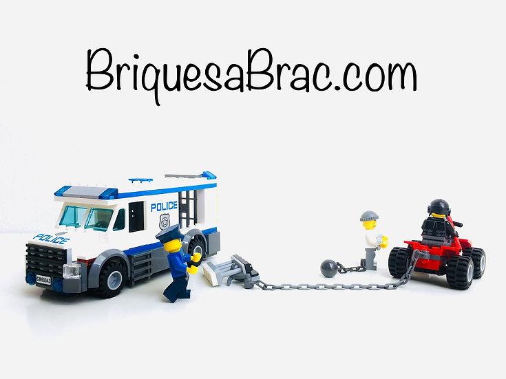 LEGO ® CITY 60043 Prisoner Transporter