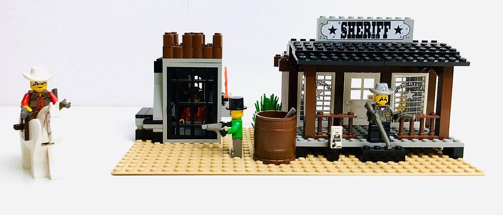LEGO® WESTERN 6755 Le bureau du Sheriff