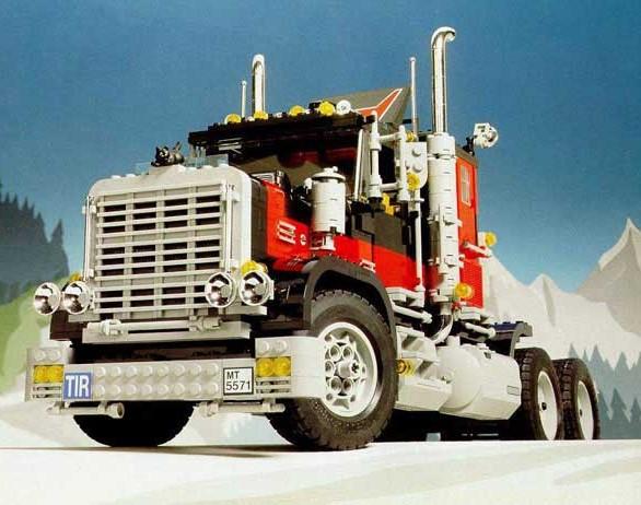 Lego Model Team 5571 Giant Truck