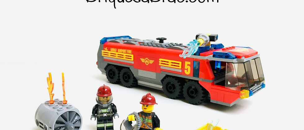 LEGO ® CITY 60061 Airport Fire truck