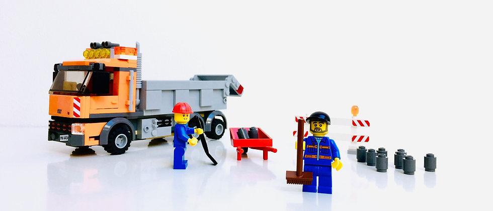 LEGO® CITY 4434 Le Camion a benne basculante