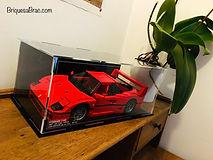 Vitrine Plexigas acrylique Briquesabox LEGO Ferrari F40 10248