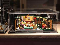 Vitrine Plexiglas LEGO IDEAS 21319 FRIENDS Central Perk