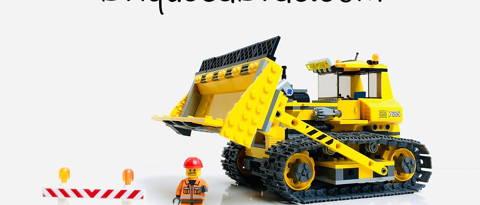 LEGO ® CITY 7685 Bulldozer (DOZER)