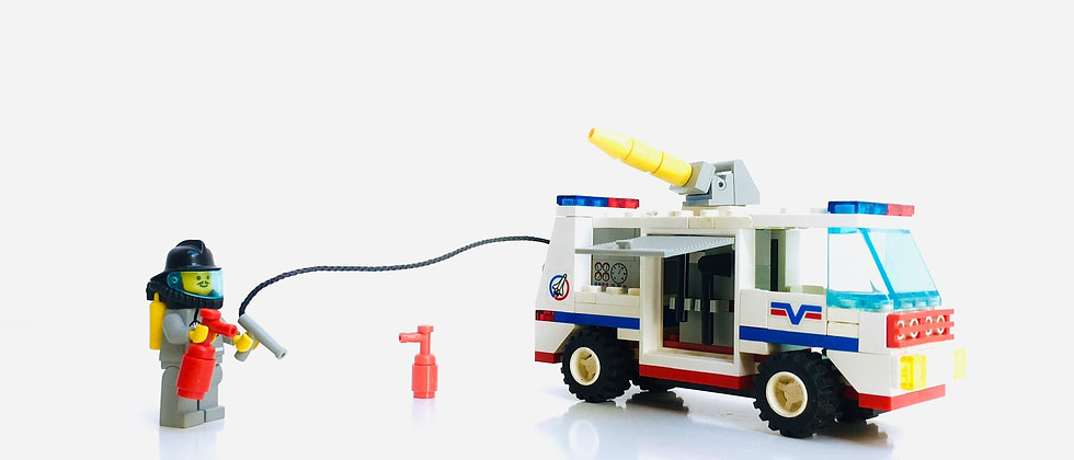 LEGO ® CITY 6614 Launch Evac 1