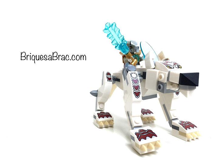 LEGO ® LEGENDS OF CHIMA 70127 Le Loup Legendaire (Occasion)