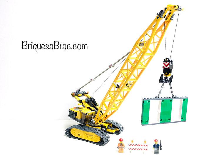 LEGO ® CITY 7632 La Grue XXL à chenilles (Occasion)