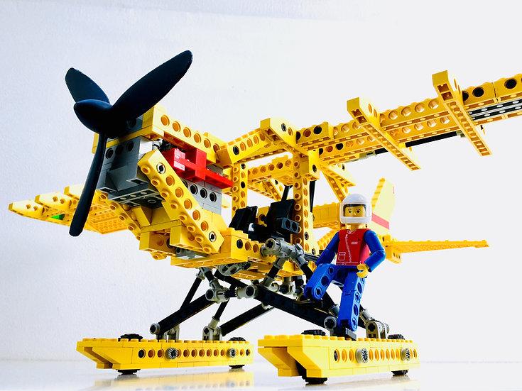 LEGO ® TECHNIC 8855 Prop Plane Hydravion