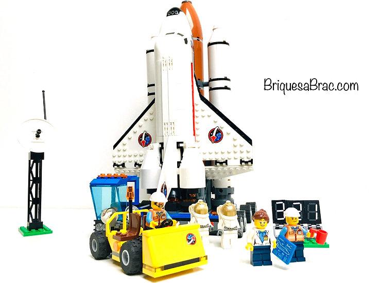 LEGO ® CITY 60080 Le Pas de Tir du Centre Spatial (Occasion)
