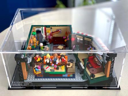 Vitrine BriqueBoX LEGO FRIENDS CENTRAL PERK IDEAS 21319