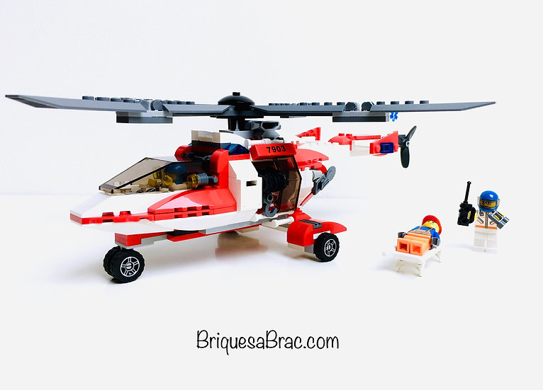 LEGO® CITY 7903 Rescue Helicopter