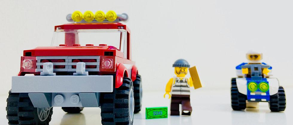 LEGO ® CITY 4437 Police Poursuite